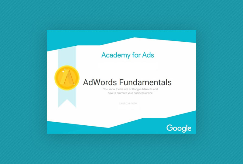 How much does Google Adwords certification cost?