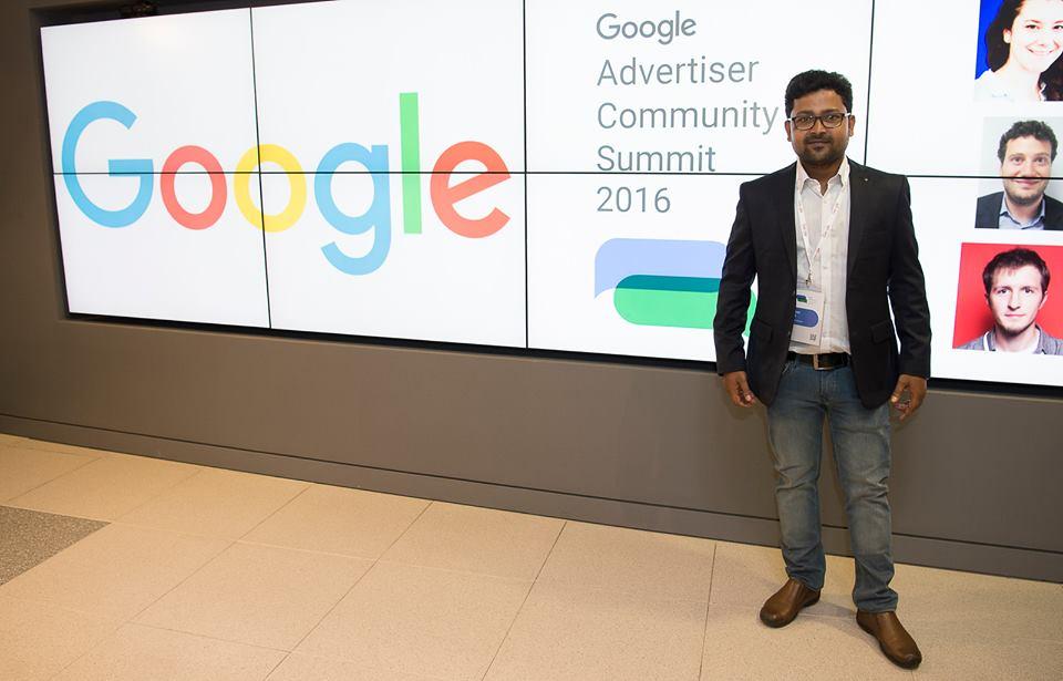 At Advertiser Community Summit 2016, Dublin, Ireland